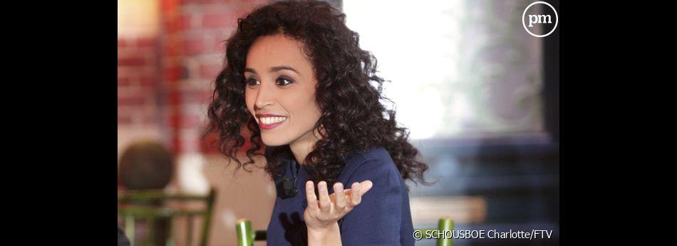 """Aïda Touihri, nouveau visage de la culture à la télévision avec """"Grand Public"""", chaque jeudi sur France 2 à 23h15."""