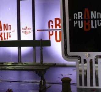 Un décor de cinéma a été choisi pour 'Grand Public'.