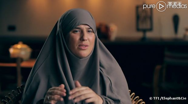 """Diam's se confie dans """"Sept à huit"""", sur TF1."""