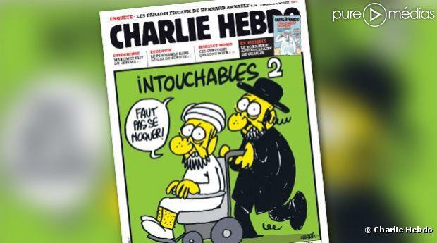La Une de Charlie Hebdo du 19 septembre 2012.