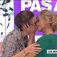 Zapping : le baiser lesbien d'Enora Malagré chez Cyril Hanouna