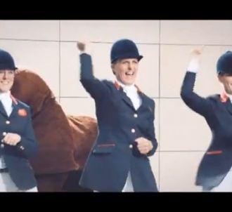 L'équipe olympique britannique en action sur une chanson...