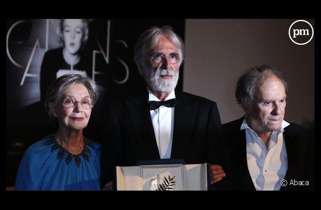 """Michael Haneke décroche la palme d'or avec """"Amour""""."""
