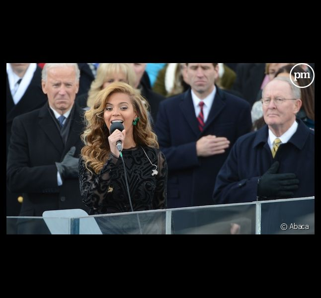 Beyoncé aurait interprété l'hymne américain en playback