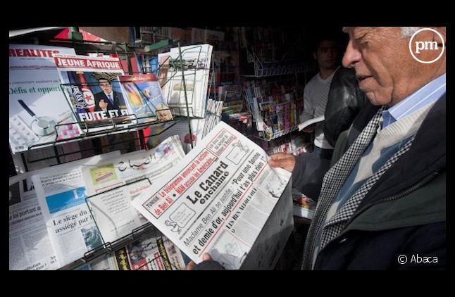 Pas de journaux dans les kiosques demain.