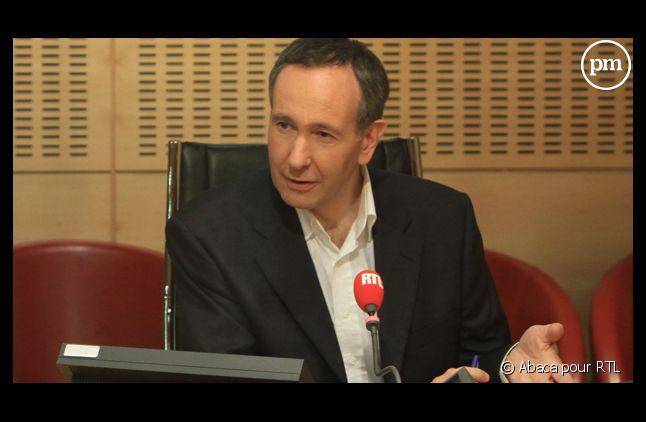 Laurent Bazin, nouvel anchorman de la matinale de RTL.
