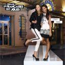 Cindy Fabre et Delphine Wespieser dans une publicité pour la Halle aux chaussures.