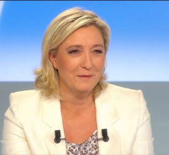 La chute de Marine Le Pen dans une piscine.