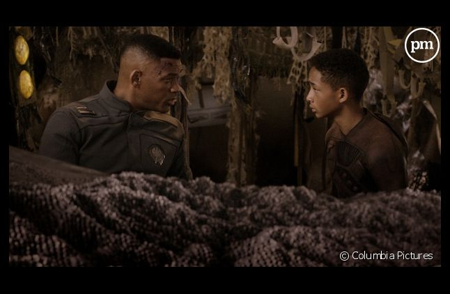 """Will Smith et Jaden Smith dans """"After Earth"""""""