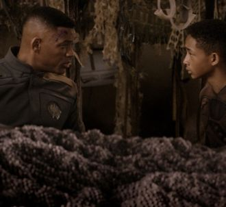 Will Smith et Jaden Smith dans 'After Earth'