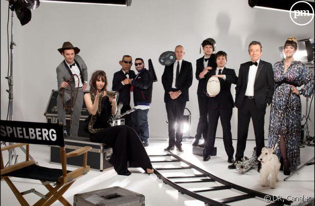 """""""Le Grand Journal"""" à Cannes en 2013."""