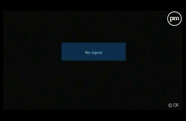 Depuis mardi, un ecran noir remplace les programmes de la télévision publique grecque.