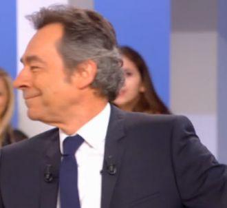 Michel Denisot très ému dans 'Le Supplément'