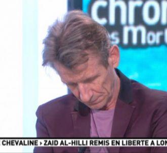 Léon Mercadet, endormi pendant 'La matinale' de Canal+