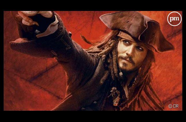 """Johnny Depp dans """"Pirates des Caraïbes : jusqu'au bout du monde"""", ce soir sur TF1"""