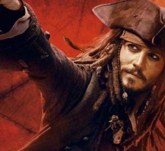 Johnny Depp dans 'Pirates des Caraïbes : jusqu'au bout du...