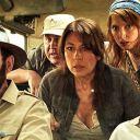 """Valérie Benguigui avec Kad Merad, Lionel Abelanski et Frédérique Bel dans """"Safari"""""""
