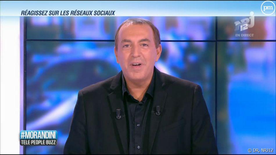 """L'émission de Jean-Marc Morandini, """"#Morandini"""", sur NRJ12."""