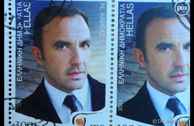 "Le nouveau timbre ""Nikos Aliagas"" dévoilé hier"