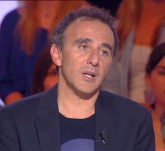 Sur D8, Elie Semoun est revenu sur sa fausse bagarre dans...