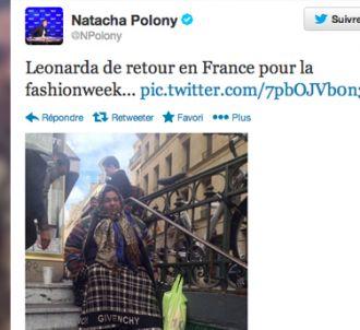 Le tweet posté puis effacé par Natacha Polony.
