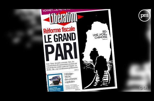 """En septembre, les ventes de """"Libération"""" se sont écroulées de 30%."""
