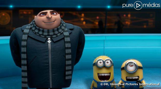 """""""Moi, moche et méchant 2"""" est le film le plus vu en France en 2013"""