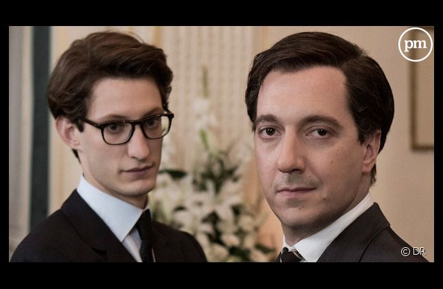 "Pierre Niney et Guillaume Gallienne dans ""Yves Saint Laurent"""