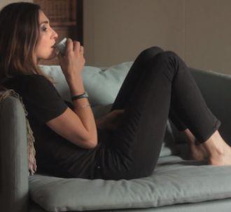 Julie Gayet dans le clip de Minor Alps