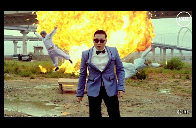 """PSY dans le clip phénomène de """"Gangnam Style"""""""