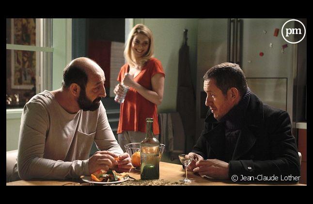 """Dany Boon et Kad Merad dans """"Supercondriaque"""""""