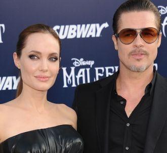 Brad Pitt et Angelina Jolie sur le tapis rouge de...