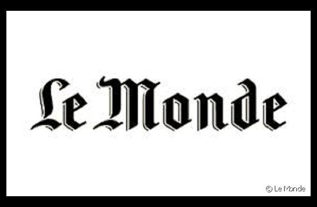 """Logo du """"Monde"""""""