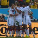 Les Allemands célèbrent leur victoire