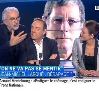 Débat autour de la petite phrase de Jean-Michel Larqué,...