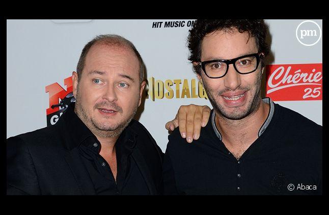 Sébastien Cauet et Manu Lévy, stars des audiences sur NRJ.