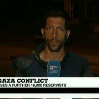 Gaza : Une roquette tirée à quelques mètres d'un journaliste de France 24