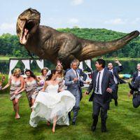Jeff Goldblum en guest sur une photo de mariage très spéciale