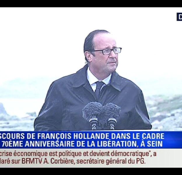 François Hollande, le 25 août 2014.