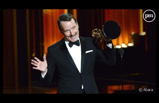 """Bryan Cranston, meilleur acteur aux Emmy Awards 2014 pour """"Breaking Bad"""""""