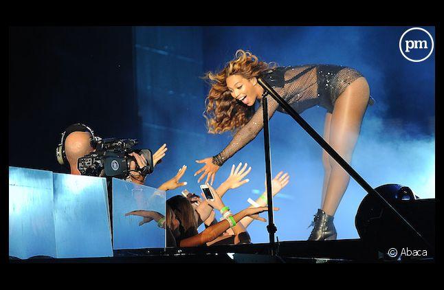 """Beyonce en playback sur le """"On the run tour"""""""