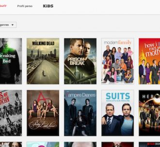 Aperçu de l'offre série de Netflix