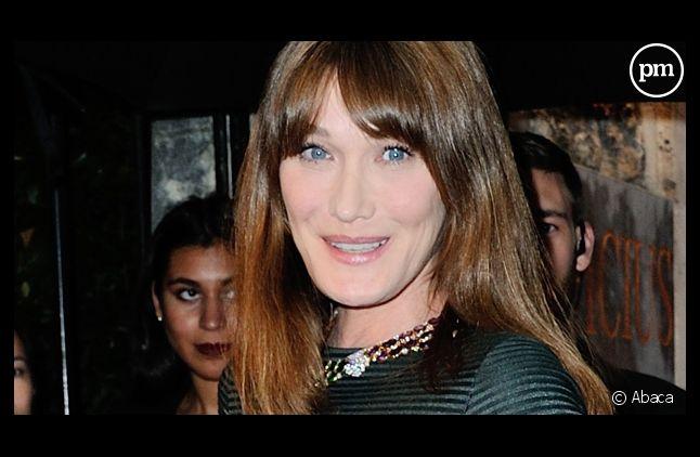 CArla Bruni-Sarkozy, égérie de la marque Bulgari.
