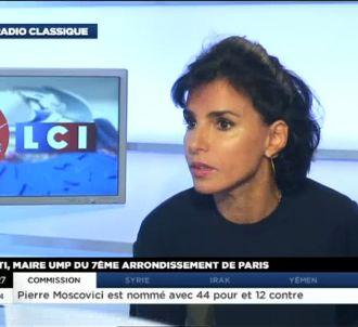 Rachida Dati sur LCI.