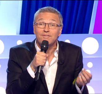 Laurent Ruquier, sur France 2 le 11 octobre 2014.