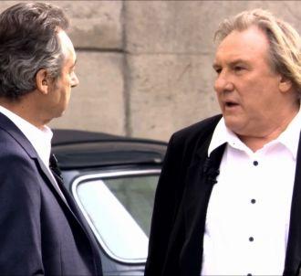 Gérard Depardieu se confie à Michel Denisot.