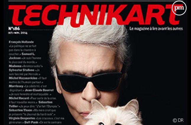 """Le dernier numéro de """"Technikart"""""""