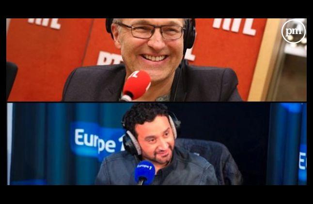 Laurent Ruquier et Cyril Hanouna
