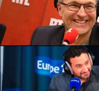 Laurent Ruquier et Cyril Hanouna