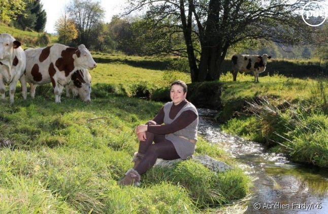 """Eva, agricultrice de """"L'amour est dans le pré"""" 2015"""